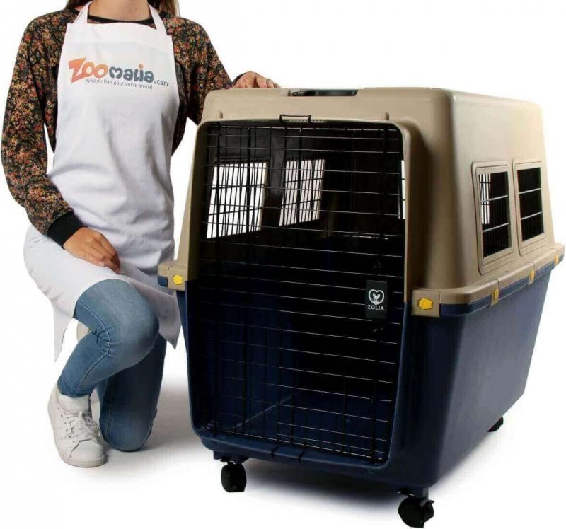 Cage de transport pour chien ZOLIA TRAVELER