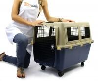 Cage de transport pour chien ZOLIA TRAVELER IATA de 80cm à 100cm