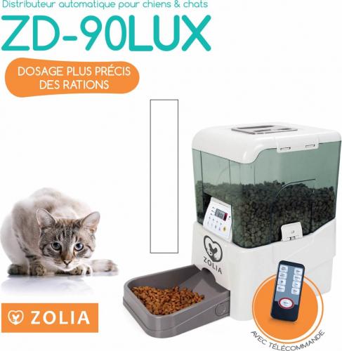 ZD-90LUX Distributeur automatique de croquettes ZOLIA chien/chat_2