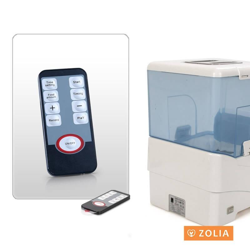 ZD-90LUX- Dispensador automático de pienso perro/gato  _5