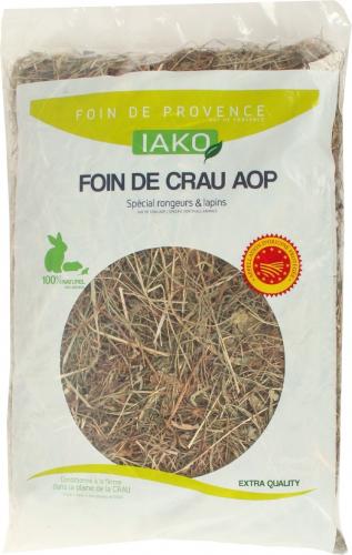IAKO Foin de Crau labellisé AOP 1kg
