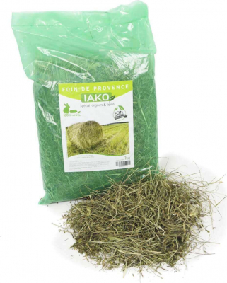Foin de Crau Authentique IAKO 1kg