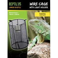 Safety Light Bulb Guard Cage 16x22cm