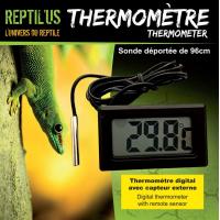 Digital-Thermometer mit Außensensor