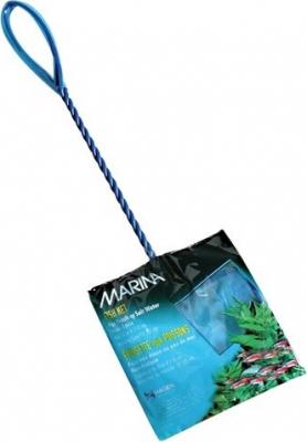 Épuisette bleue Marina pour poissons