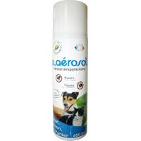E.AEROSOL 2en1 - Anti-puces et anti-tiques pour Chien, chat et environnement