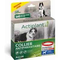 ACTI COLLIER Antiparasitaire rouge pour chien moyen