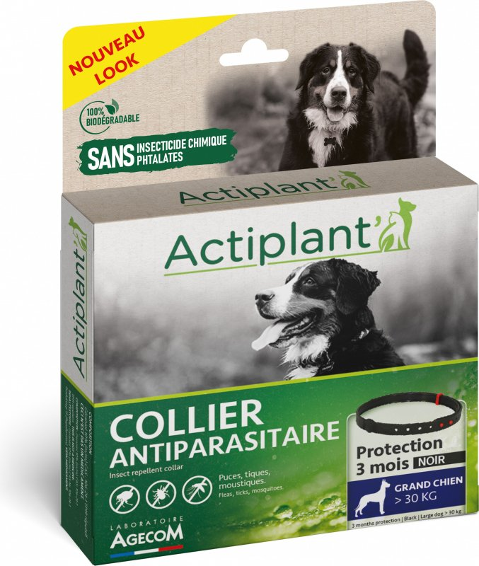 ACTI COLLIER Antiparasitaire pour grand chien