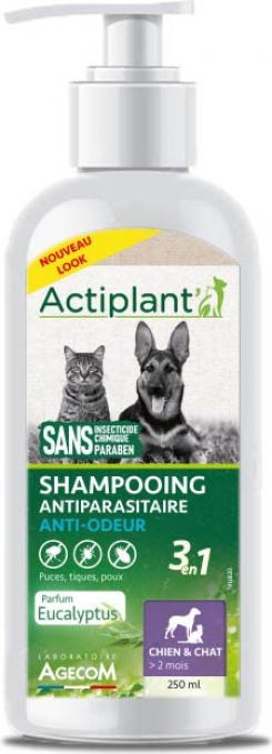 ACTI Shampoo Antiparasitaire 2EN1 ANTI ODEUR 250ml