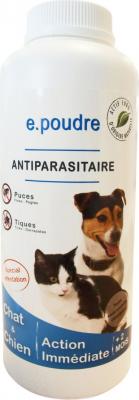 E.POUDRE Antiparasitario para Perros 300 g