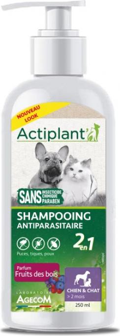 ACTI Shampoo Antiparasitaire 2EN1 Fruit des bois 250ml
