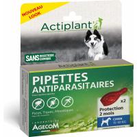 ACTI Pipettes antiparasitaires Chiot et Chien Adulte