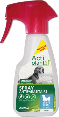 ACTI Spray Antipara Chien 250 ml