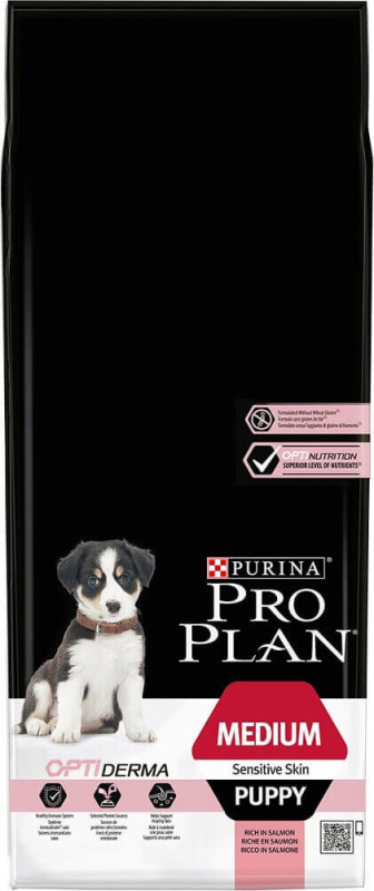 PRO PLAN Medium Puppy Sensitive Skin au saumon