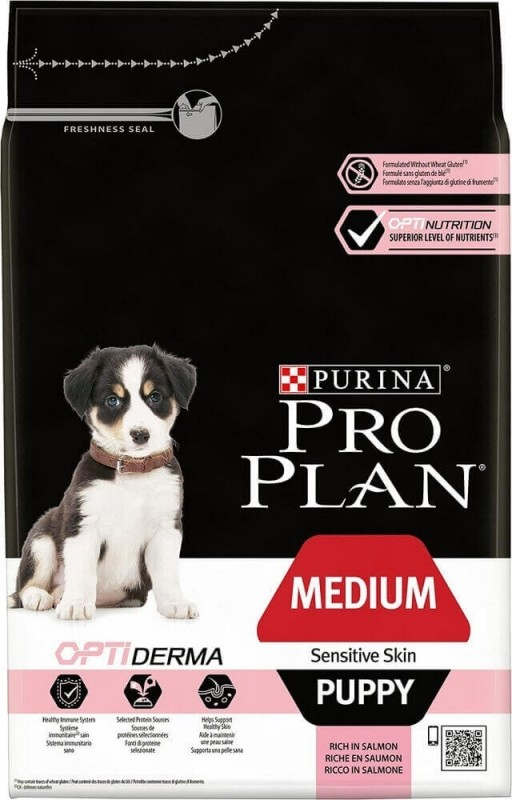 PRO PLAN Medium Puppy Sensitive Skin au saumon