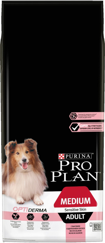 PRO PLAN Chien Medium Adult Sensitive Skin