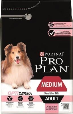 Pro Plan Medium Adult Sensitive Skin OPTIDERMA mit Lachs