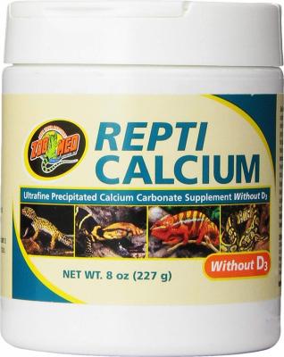 ZooMed ReptiCalcium sans D3