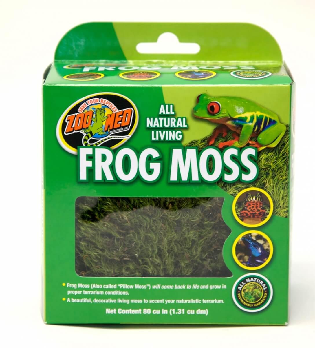 Almohada de musgo Frog Moss_0