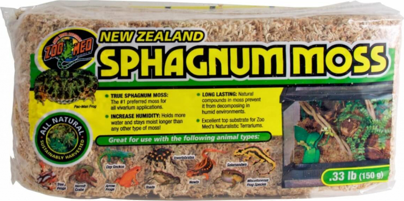 Musgo de Sphagnum New Zealand Moss