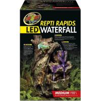 Cascade Repti Rapids Wood Style avec LED