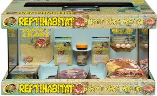 Kit Terrarium ReptiHabitat pour bernard l'hermite