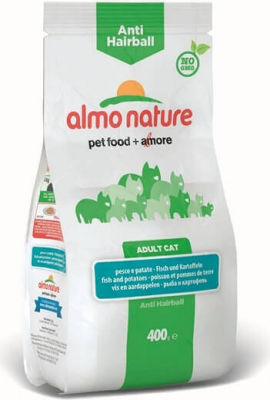 Pienso Almo Nature Holistic Anti Hairball, para gatos