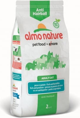 ALMO NATURE PFC Holistic Anti-Hairball pour Chat Adulte - 2 saveurs au choix