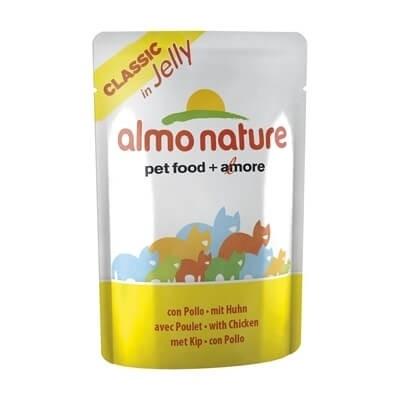 Pâtée Almo Nature Classic pour chat - Gelée - Différentes saveurs_0