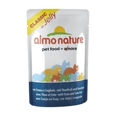 Pâtée Almo Nature Classic pour chat - Gelée - Différentes saveurs_1