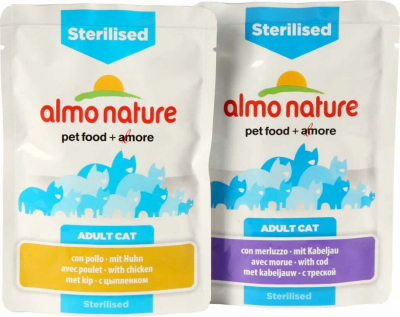 Almo Nature Adult Sterilised Wet