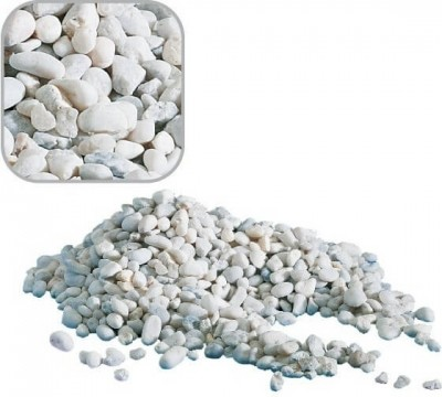 Gravier naturel NOA blanc 1kg