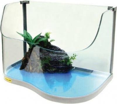 Voll ausgestattetes Aquarium für Schildkröten PARADISE