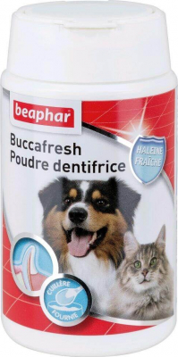 DENTAL PLUS polvo dentífrico para perros y gatos