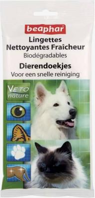 Lingettes nettoyantes Fraîcheur Biodégradables