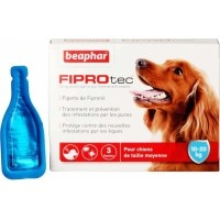 FIPROtec, solution spot-on pour chiens