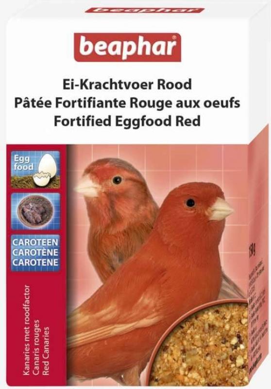 Pâtée rouge fortifiante aux oeufs