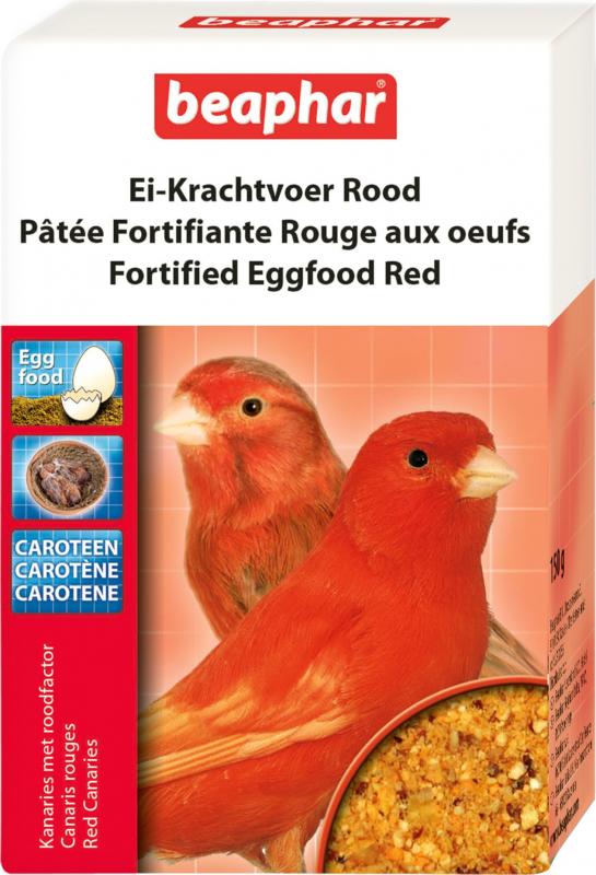 Paté rojo fortificante de huevo