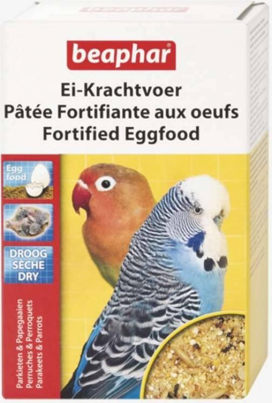 Pâtée fortifiante à l'oeuf pour perruches et perroquets