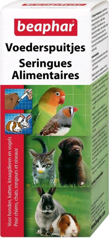 Seringues alimentaires