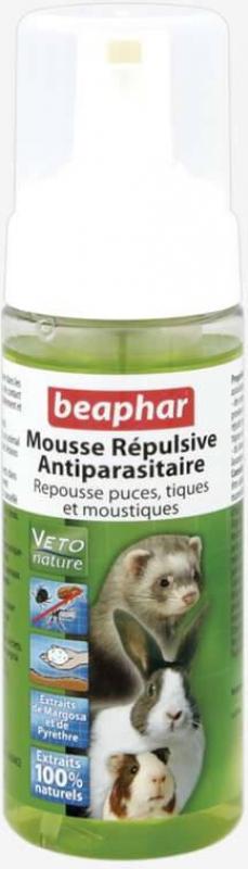 Schiuma repellente antiparassitaria