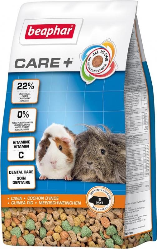 Care + Cochon d'Inde Aliment extrudé