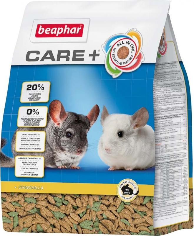 Beaphar Care+ Chinchilla Aliment extrudé