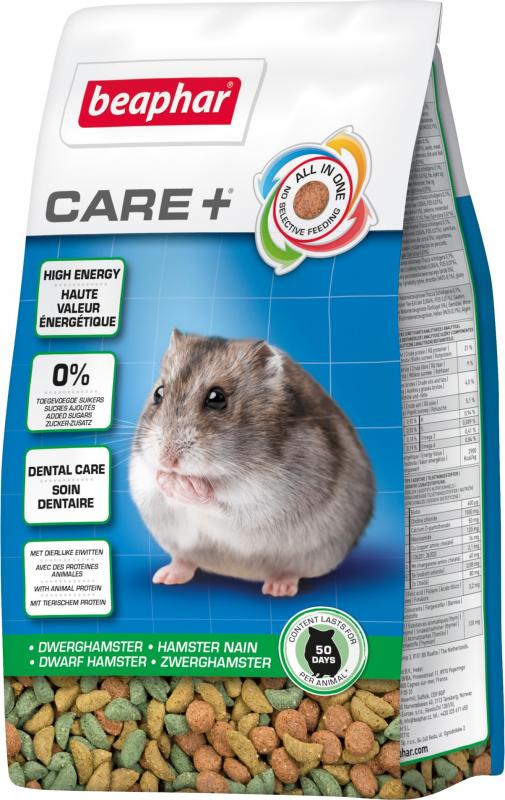 Beaphar Care+ Aliment extrudé Hamster nain