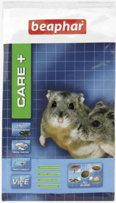 Care + Hamster nain Aliment extrudé