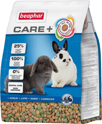 Care + Lapin Aliment extrudé