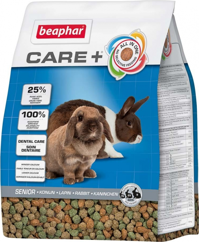 Beaphar Care+ Lapin Senior Aliment extrudé