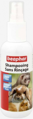 Shampooing sans rinçage en pulvérisateur pour rongeurs
