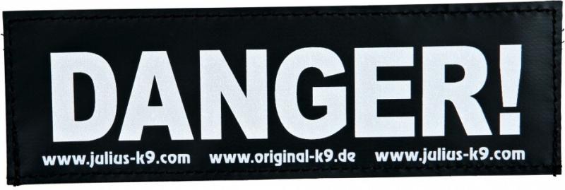Stickers Velcro Julius-K9 FR taille S et L