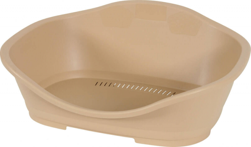 Corbeille plastique Sleeper taupe
